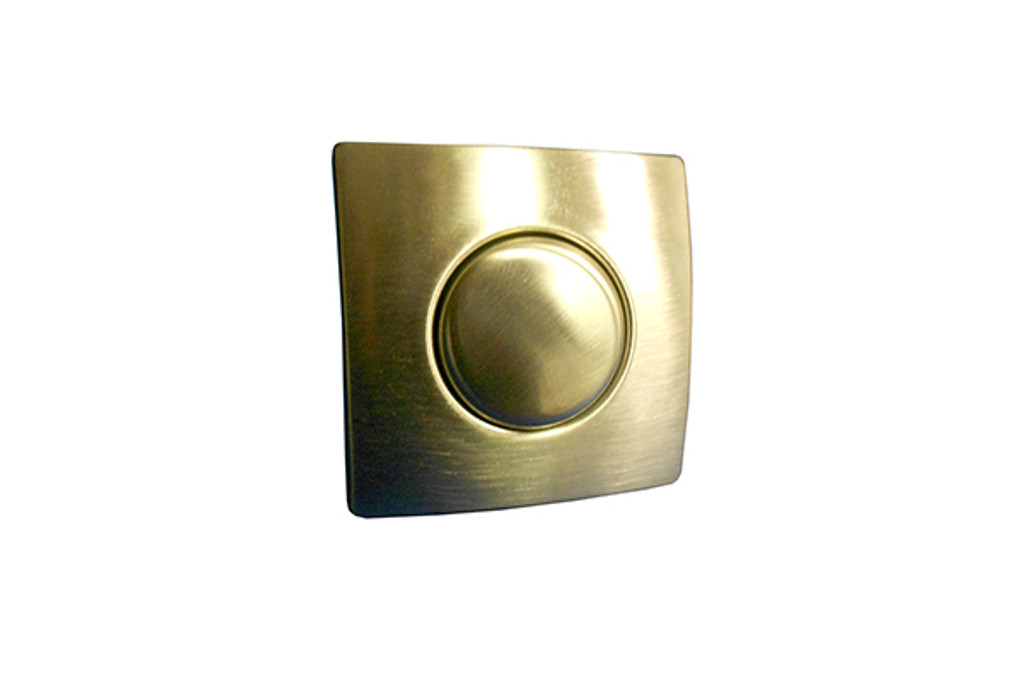 Allied Innovations | AIR BUTTON TRIM | #20 DESIGNER TOUCH, TRIM KIT, BRUSHED STAINLESS, SQUARE | 951961-000
