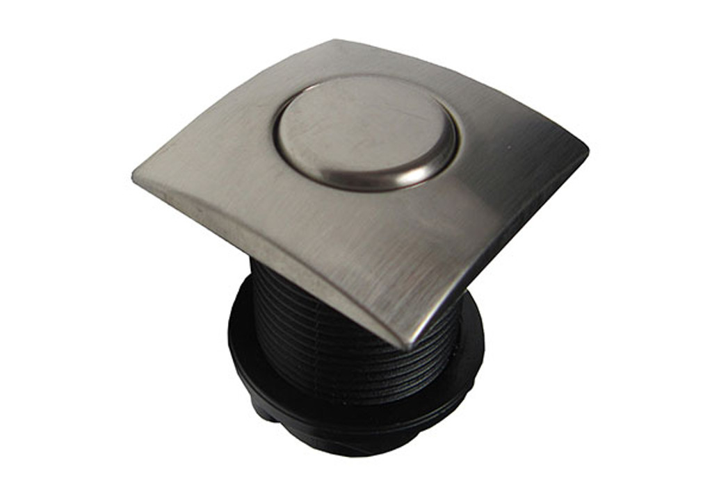 Allied Innovations | AIR BUTTON | #20 DESIGNER TOUCH, BRUSHED STAINLESS, SQUARE | 951590-961