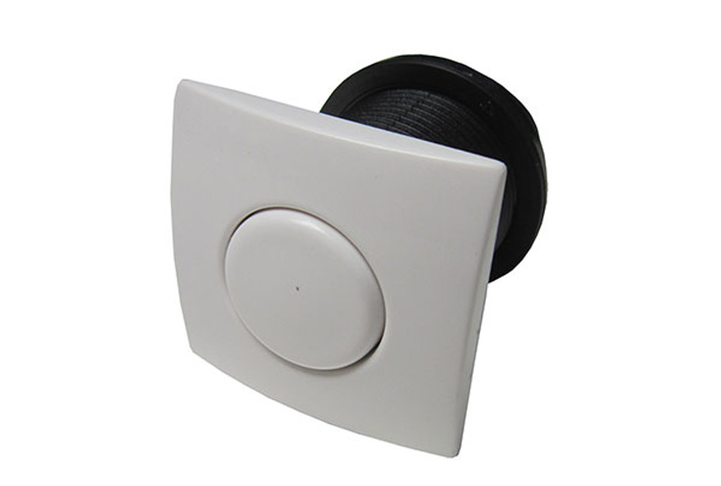 Allied Innovations | AIR BUTTON | #20 DESIGNER TOUCH, WHITE, SQUARE | 951590-901