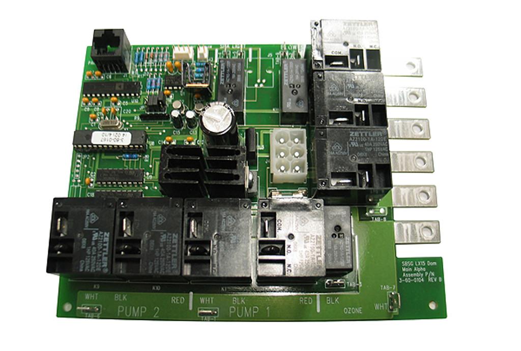 Allied Innovations | PCB | LX-15 EXT REV 4.02 | 3-60-0167