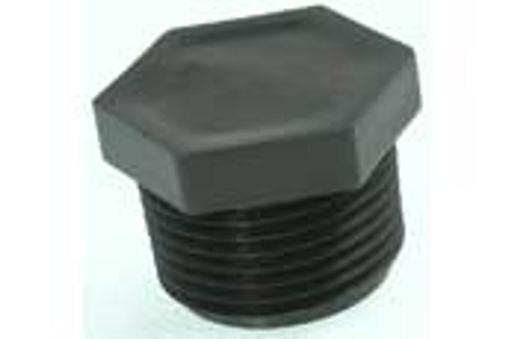 """A&M INDUSTRIES   PLASTIC, 3/4"""" MPT   6764-0"""