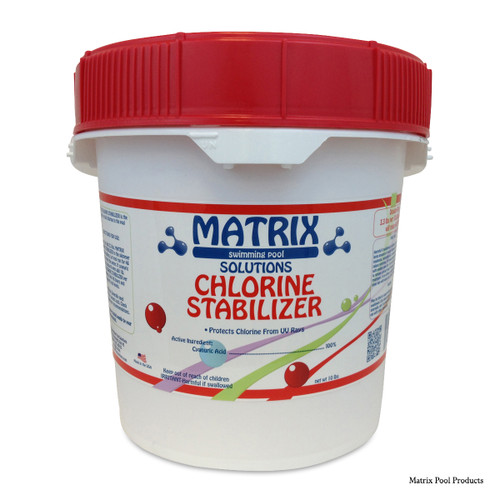 MATRIX | 10 LB MATRIX CYANURIC ACID | 10 LB POUND CHLORINE STABILIZER | MTX4008