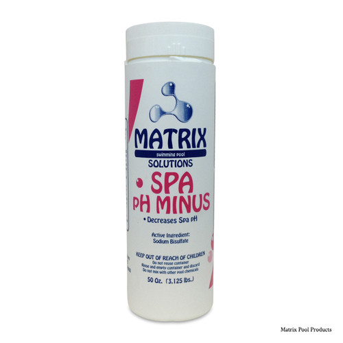 MATRIX | 3.125# MATRIX SPA PH MINUS | SPA DRY ACID | MTX4041