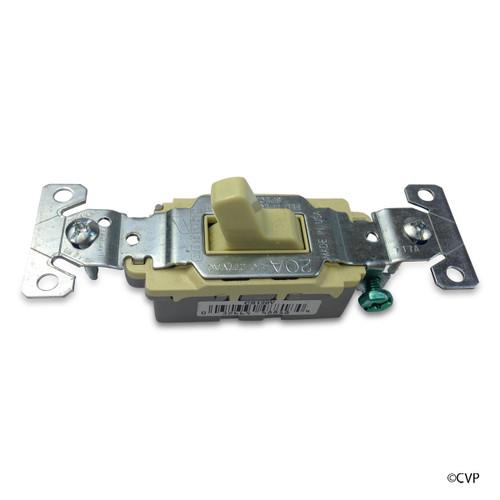 ELETRICAL   20 AMP WHITE GFCI   SINGLE POLE SWITCH,20A-120/277   CS120VBU