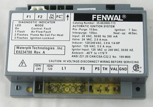 LAARS | IGNITION CONTROL LX/LT LOW NOX | Pool Heater Model Lt400n-lb  | R0386800