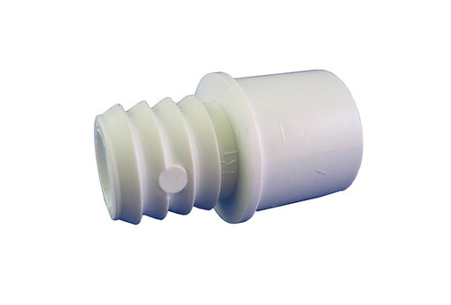 "Waterway | PVC ADAPTER | 1/2"" SLIP OR 3/4"" SPIGOT X 3/4"" RIBBED BARB 