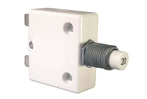 Mechanical Products | CIRCUIT BREAKER | 20AMP 240V PANEL MOUNT | 1600-037-200