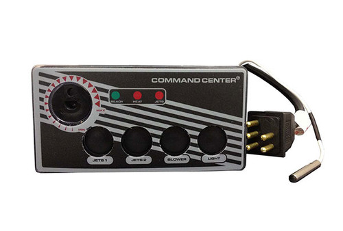 Tecmark (TDI)   TOPSIDE   COMMAND CENTER - 4-BUTTON - 120V - 10' - WITHOUT DIGITAL DISPLAY   CC4-120-10-1-00