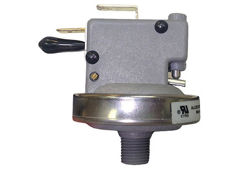 "Len Gordon | PRESSURE SWITCH | LOW PROFILE - 21AMP - 1/8"" NPT - 2.2PSI - PLASTIC - BULK 