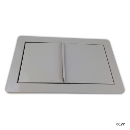 Jacuzzi Whirlpool Bath | JWB Skimmer/Wier Frame Assy Silver | 6639945