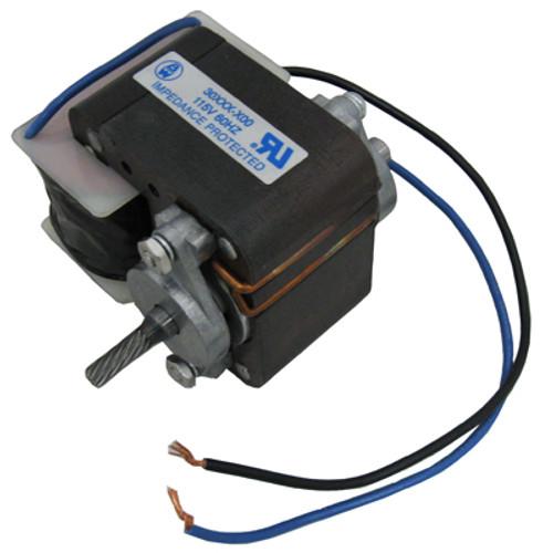 BLUE WHITE | MOTOR ASSY. 115V FOR 30&45 RPM | A-309-2