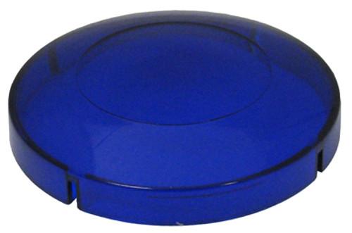 "Allied Innovations   BLUE LENS FOR 2 1/2"" HOLE SIZE 3 3/8"" LENS DIAMETER   5-30-0093B"