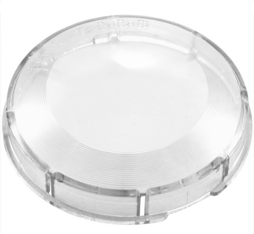 Fiberstars Clear Lens cover, snap-on plastic | FPAL-LC