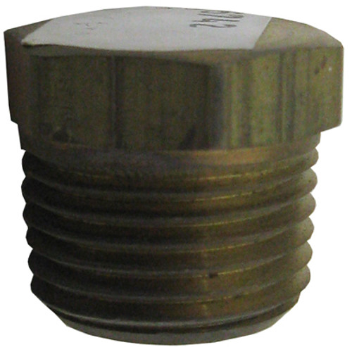 "PENTAIR | PIPE PLUG, Î_"" NPT BRASS 