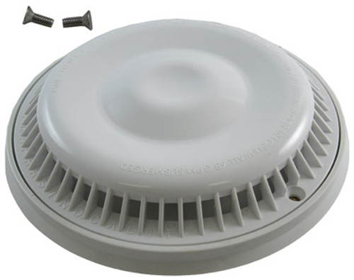 "AFRAS | 7.875"" DIAMETER RING AND COVER - GPM FLOOR 104/WALL 68 - WHITE 