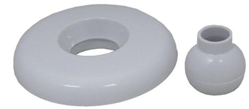 Balboa GG Industries 23320-WH Escutcheon & Eyeball