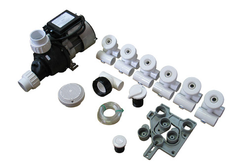 Allied Innovations Pump Plumbing Jetted Tub Assembly Kit
