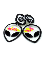 Galaxy Glow Air Pillow Earrings - The Extraterrestrial (001)