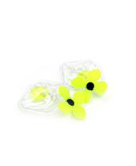 Galaxy Glow Air Pillow Earrings  - Shoot Star Cubes (002)