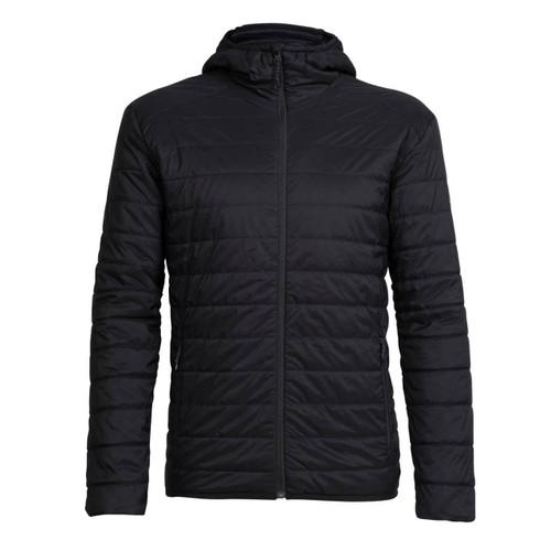 Icebreaker Men's Hyperia Lite Hooded Jacket - Black