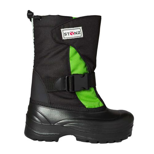 Stonz Trek Winter Bootz - Lime/Black