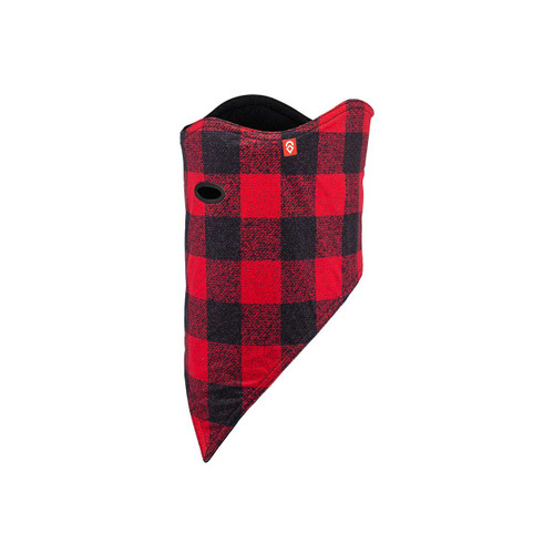 Airhole 2 Layer Standard Facemask - Red Buffalo