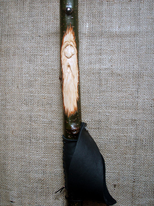 Wood Spirit walking stick.