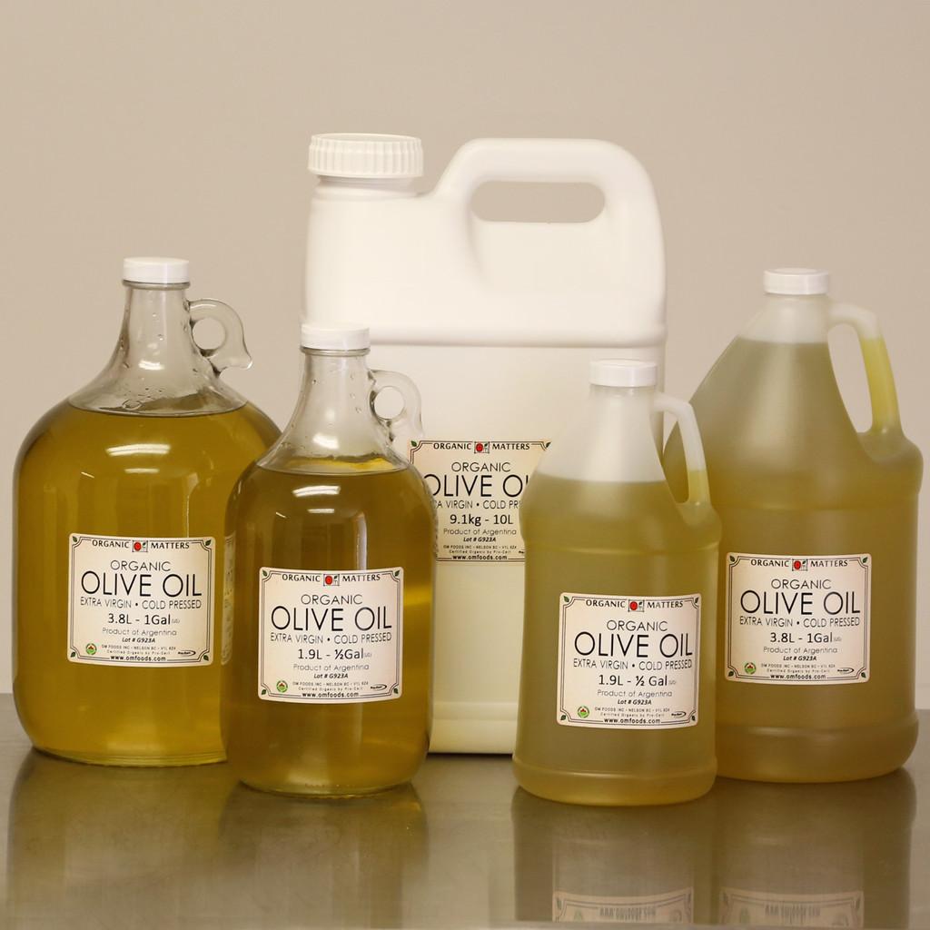 ORGANIC OLIVE OIL , extra virgin, unrefined, raw