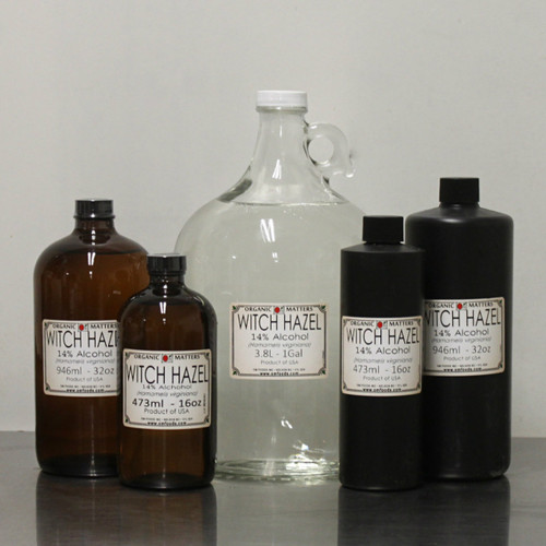 WITCH HAZEL EXTRACT, 14% alcohol