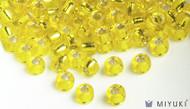 Miyuki 6/0 Silverlined Glass Beads