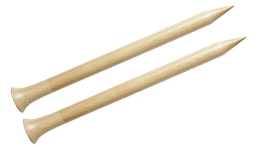 "Nirvana 12"" Birch Single Point Knitting Needles"