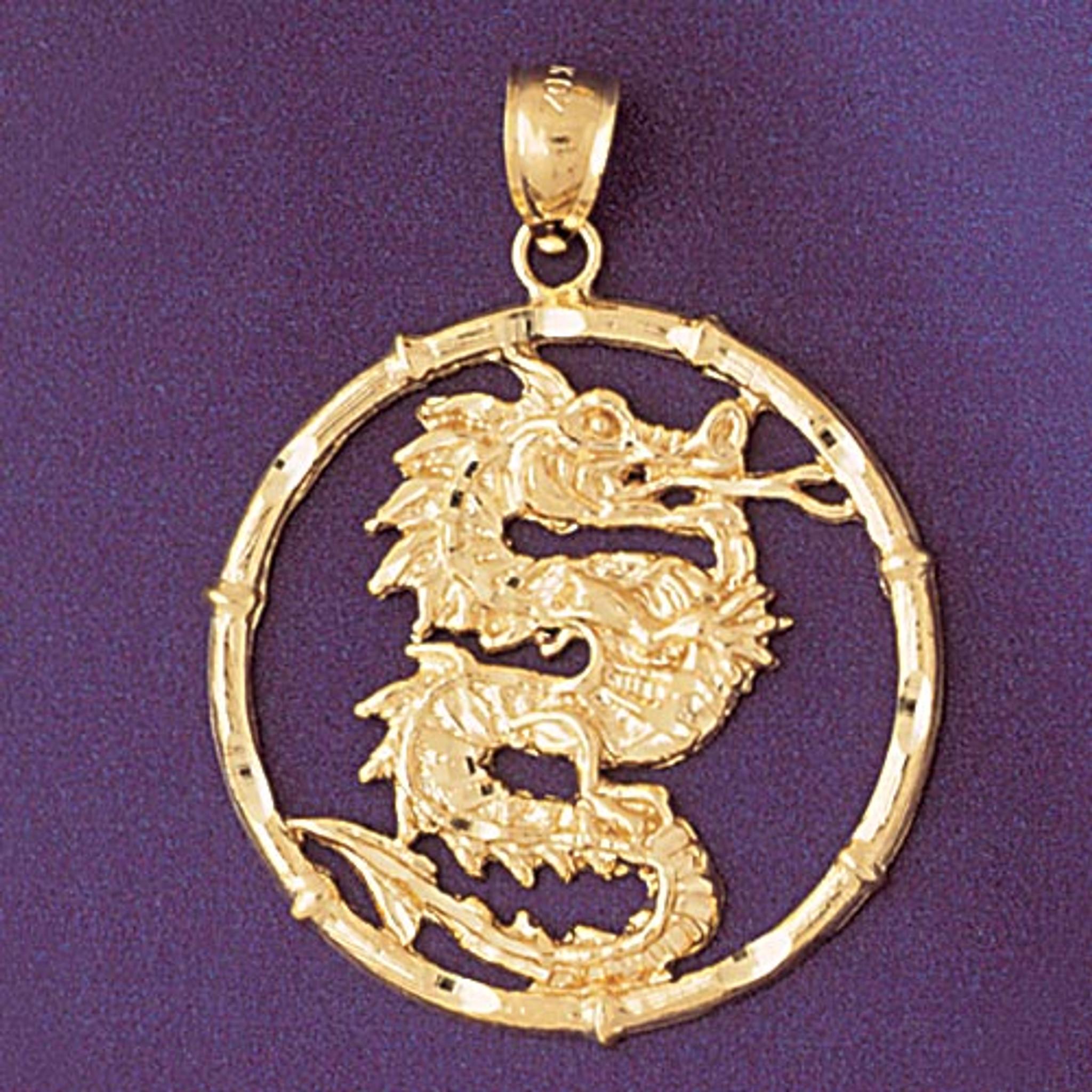 Dragon Chinese Zodiac Charm Bracelet Or Pendant Necklace