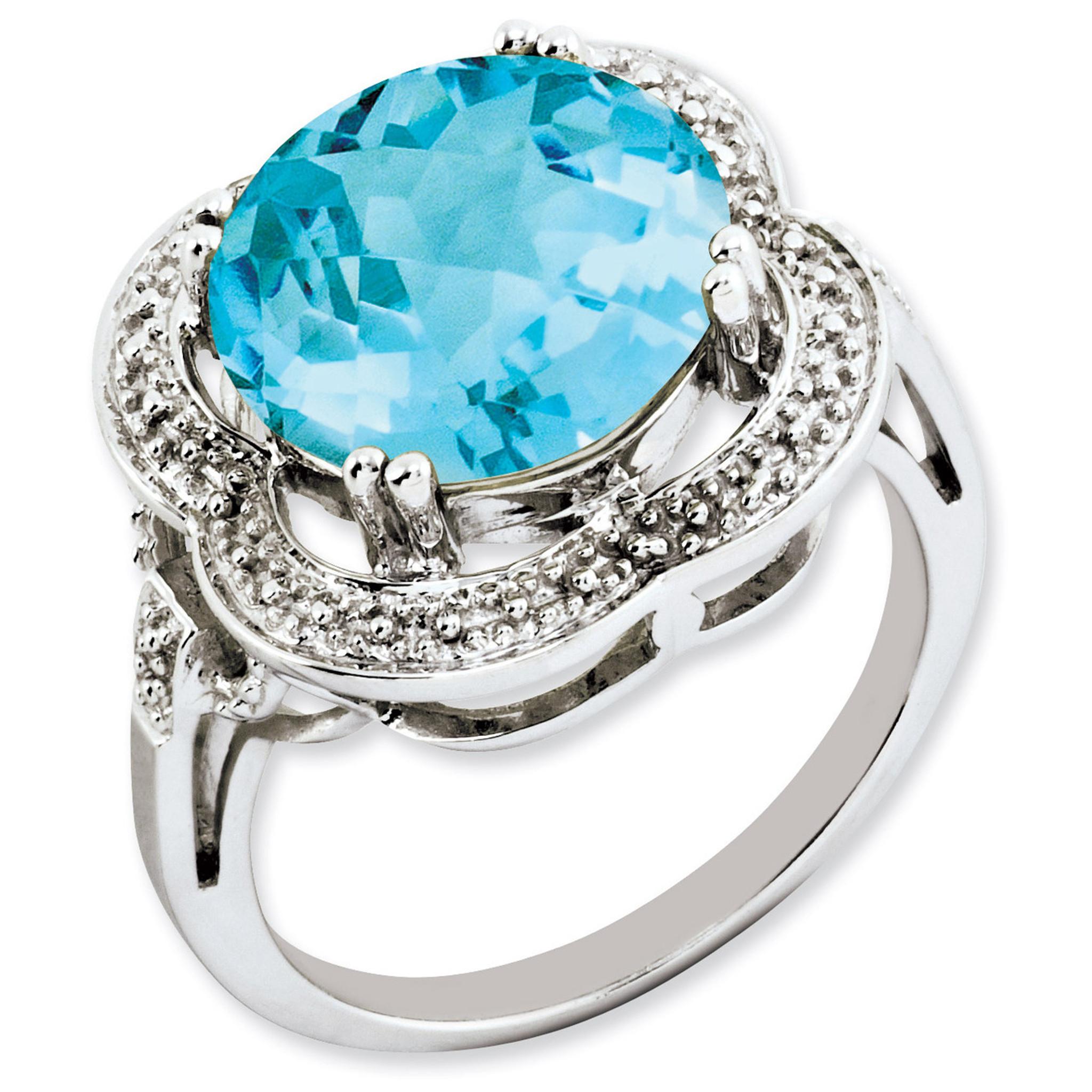 light swiss blue topaz ring sterling silver qr3200lsbt. Black Bedroom Furniture Sets. Home Design Ideas