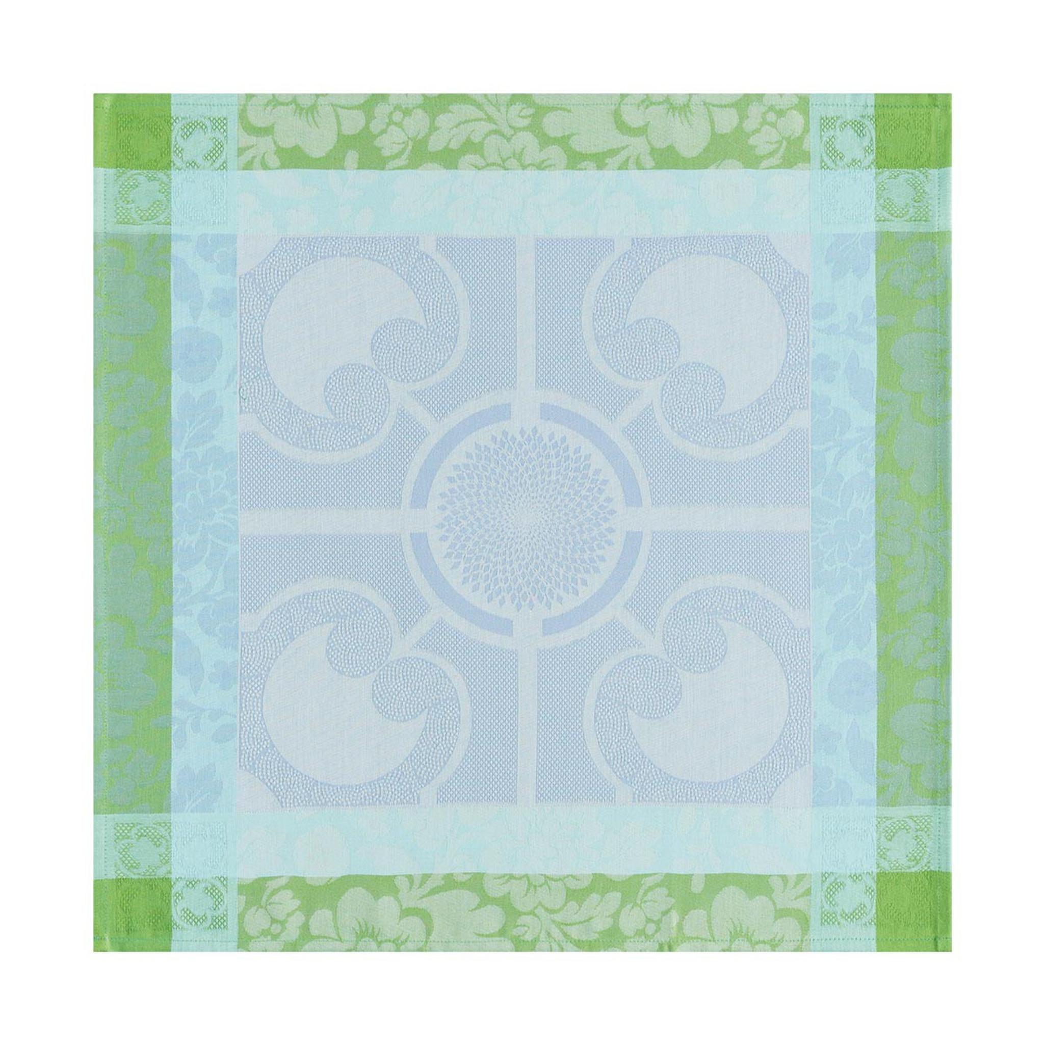Le jacquard francais jardin royal blue fountain napkin 22 for Jardin francais