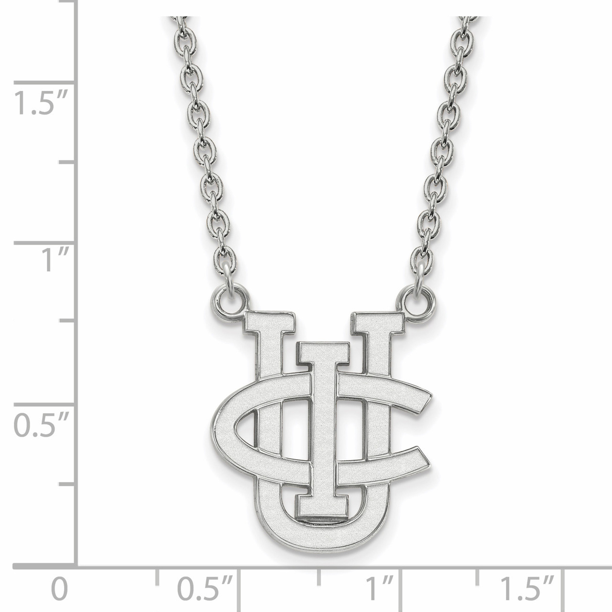 University of california irvine large enamel pendant with for 18 8 salon irvine
