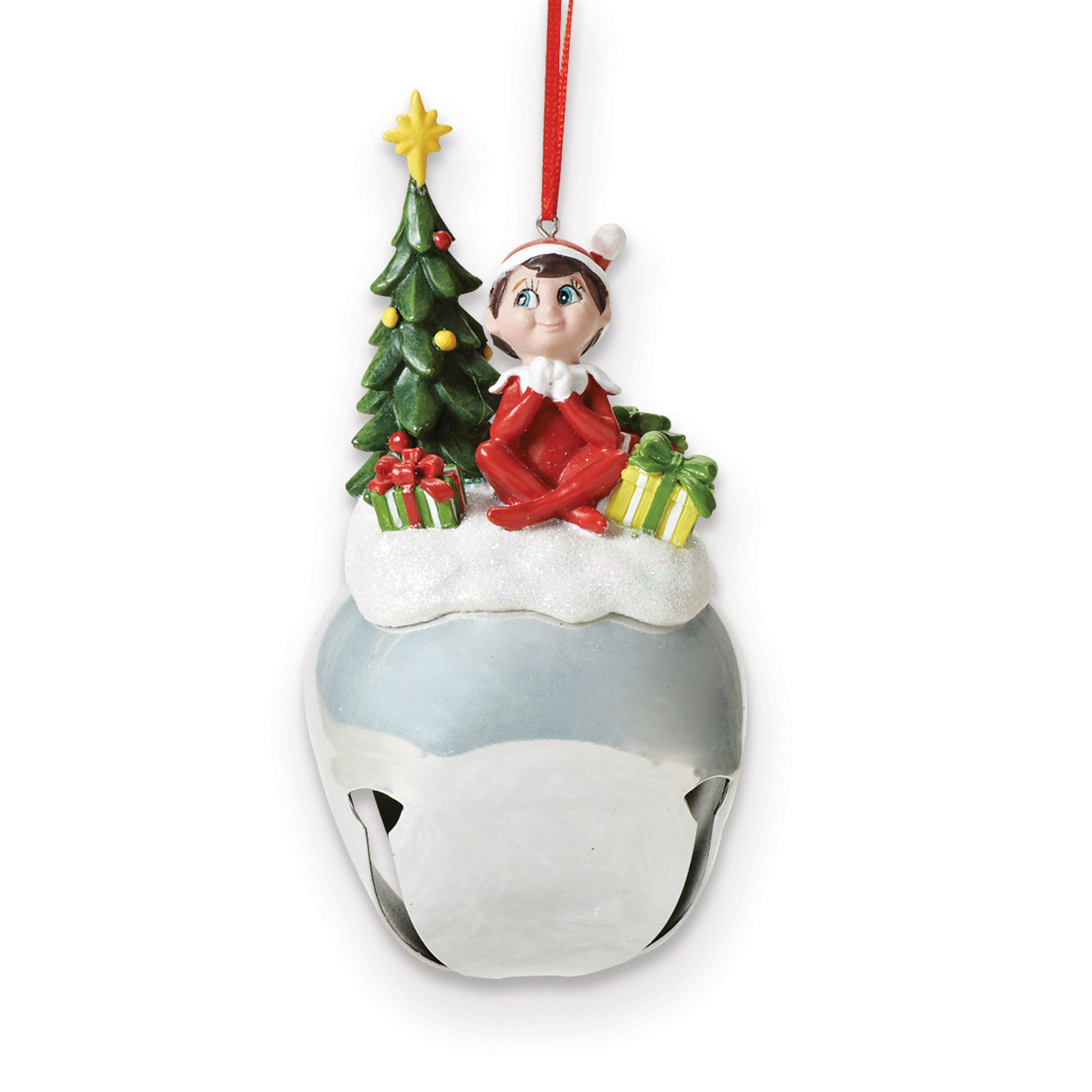 Jingle buddies elf with tree ornament gm homebello