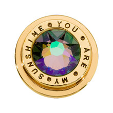 Nikki Lissoni Gold-Plated You Are My Sunshine Coin That Fits S Rings MPN: RC2037G EAN: 8719075301159