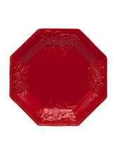 Bordallo Pinheiro Winter Red Octogonal Plate MPN: 65017244 EAN: 5600876072832