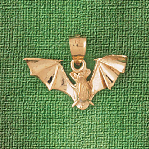 Bat Pendant Necklace Charm Bracelet in Gold or Silver 2441