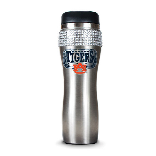 Auburn Silver Jeweled 14oz Stainless Tumbler GC4022