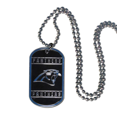 Panthers 20 inch Dogtag Chain Necklace GC4137