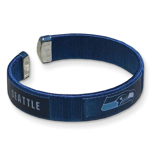Seahawks Flexible Cuff Fan Bracelet GC4303