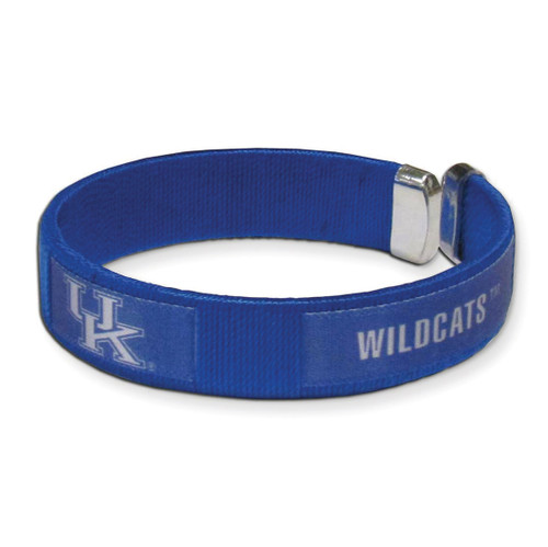 Collegiate Kentucky Flexible Cuff Fan Bracelet GC4339