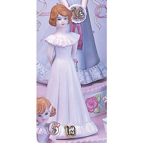 Brunette Age 13 Porcelain Figurine GL659