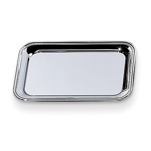 Nickel-plated 6x9 Rectangular Cash Tray GM10004