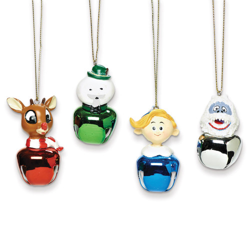 4-Piece Rudolph & Friends Jingle Buddy Ornaments GM10561