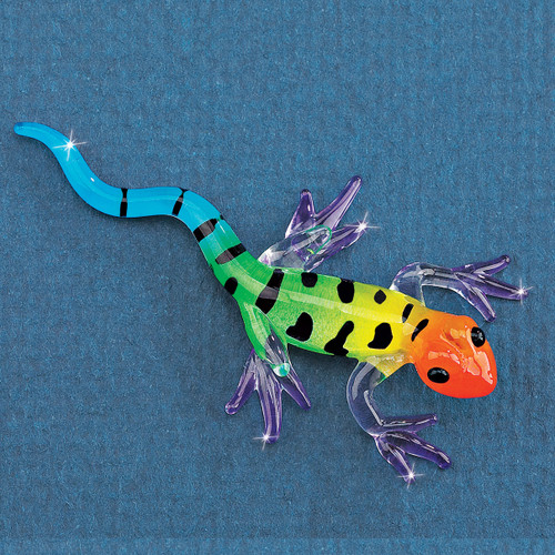 Gecko Glass Figurine GM1189