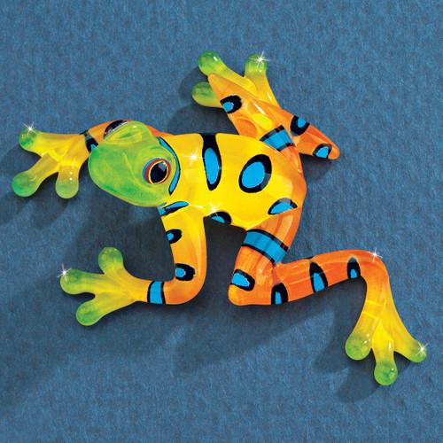 Rain Forest Frog Glass Figurine GM1196