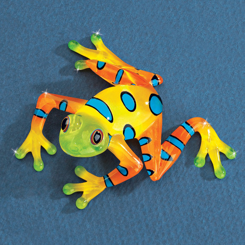 Rain Forest Frog Glass Figurine GM1210