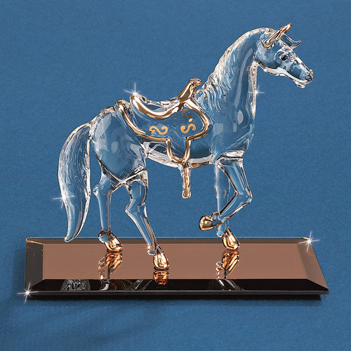 Horse Glass Figurine GM1213
